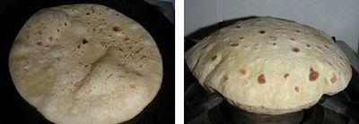 チャパーティー:インドの全粒粉薄焼きパン