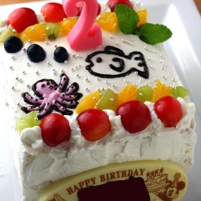 初心者さんでもOK♪「ロールケーキの生地」(バースデーケーキ)