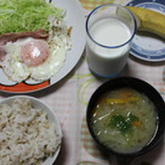 8月25日のメニュー☆   きのこのソテー&ハートの卵焼き