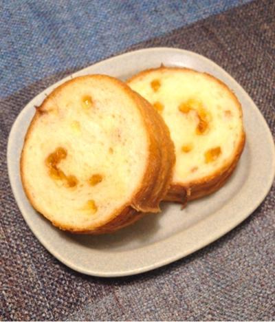 そのまんまトースト☆メープルラウンドパン