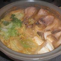 青梗菜のクリーム煮が「今週の旬のレシピ」に掲載 ~ キムチ風味のコチュジャン味噌鍋