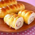 ホットケーキミックス de ちくわちーずパン♪ by みぃさん