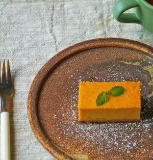 豆乳メープルかぼちゃチーズケーキ