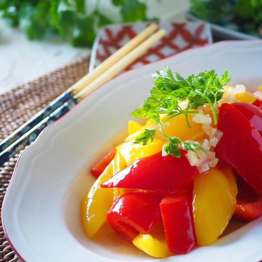 野菜もお肉もどんどんすすむ♪中華風マリネの作り方