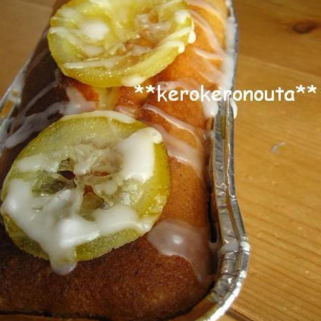 お菓子作り**FPでパウンドケーキ レシピ**