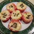 オーブンで簡単 トマトのチーズ焼き