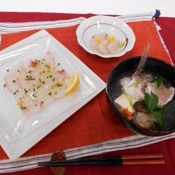 お魚料理を習ってきました(12回目)