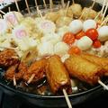 ヒガシマルうどんスープの素で串鍋おでん by とまとママさん