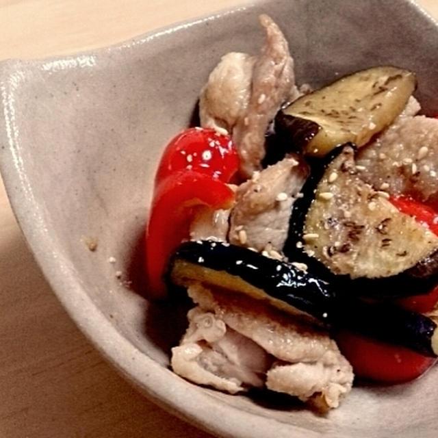 簡単♪鶏肉と夏野菜の焼き浸し