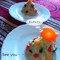 アボカドとジャガイモのサラダツリー  ~ クリスマスディナー ~