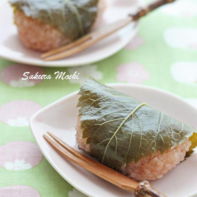 道明寺桜餅&ストウブで小豆餡