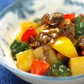 赤貝とゴーヤーのピリ辛旨煮 、 缶詰を使ったレシピです。