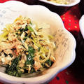 【レシピ】カルシウム摂取に!もやしと豆苗のしらすツナ醤油和え【簡単★節約★ちょこっとおかず】