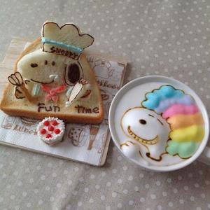 食パンがキャンバスに!Instagramで人気の「#トーストアート」をチェック