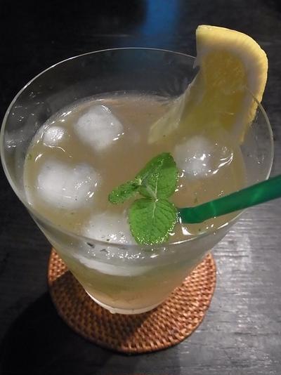 レモンハーブソーダ