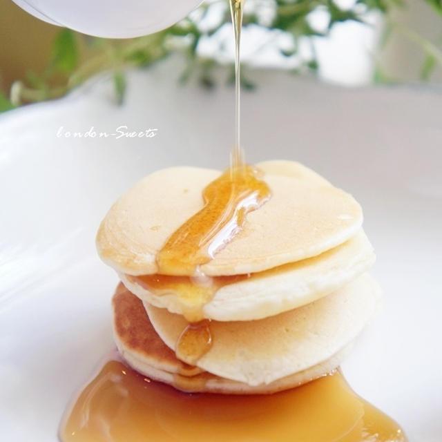 「米粉とココナッツオイルのパンケーキ」レシピ