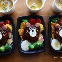 お子様ランチにデミグラハンバーグ丼❤️米油部キックオフイベント②
