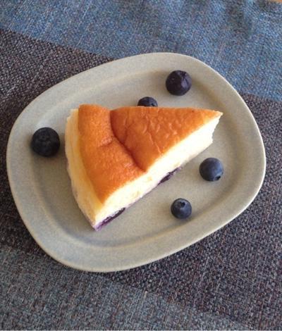 チーズケーキ好き夫のための☆スフレベイクドチーズケーキ