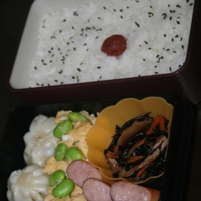 9月26日  鶏ひき肉団子と大根の煮物弁当
