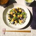 市販の〆サバで、散らし寿司@ひな祭り