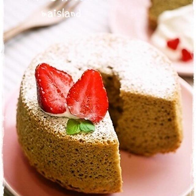 *chiffon cake*