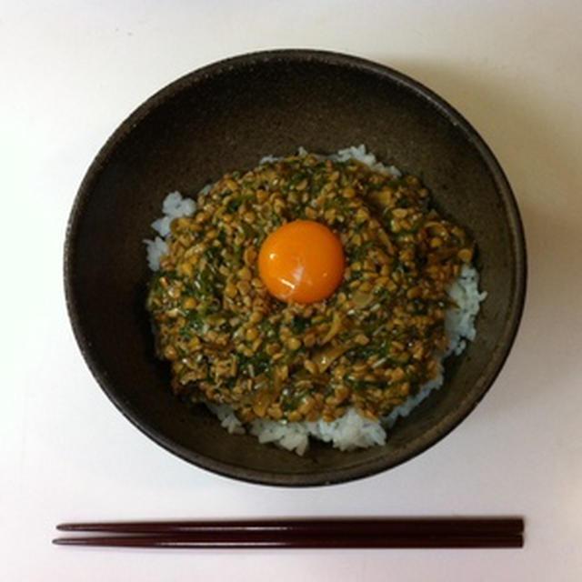 ゴリスタ納豆丼