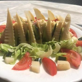 タケノコポテトサラダ