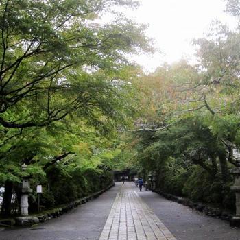 10月の石山寺