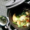 ストウブで塩レモン焼き野菜