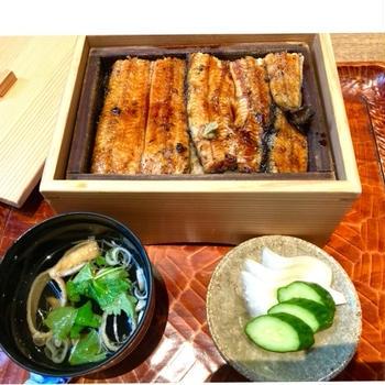 東村山の草門去来荘で鰻を食べてきました