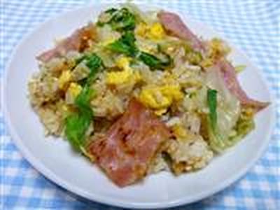 レタス炒飯☆