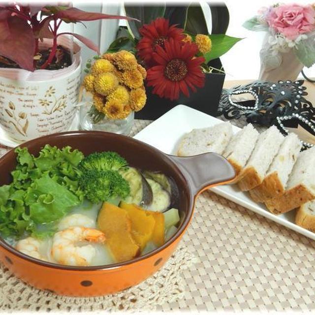 野菜たっぷりでおいしい☆濃いシチュー 純生クリーム ♪