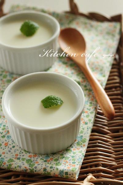 簡単!ミルクブラマンジェ。