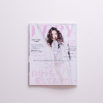 雑誌『VERY』2019年2月号 レシピページスタイリング
