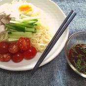 辛つけ麺、花椒風味