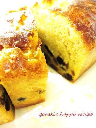 ■ラムレーズンのパウンドケーキ