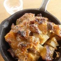 ★牛筋と3種のいもの味噌だれ焼き(レシピブログモニター)