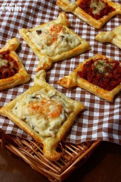 ミートパイ&エビグラタンパイの作り方