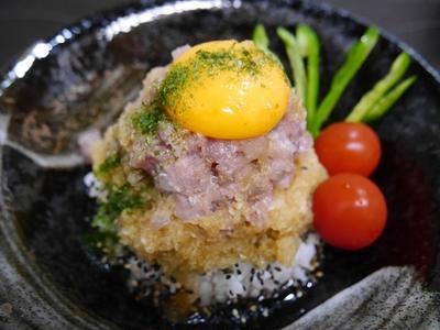 ★ おろしトロたま丼