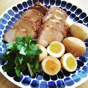 クローブ風味の煮豚&煮卵