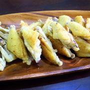 鶏スペアリブの黒胡椒焼き