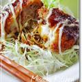 豚こま肉のミルフィーユチーズかつ丼♪ by misacocoさん