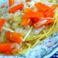 野菜あんかけスパゲティのレシピ
