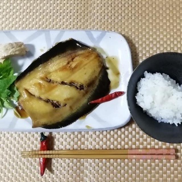 ナメタガレイの煮付け!お年寄りには!大人気!甘辛く柔らかい和定食!