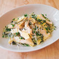 【レシピ】鶏むね肉とスプラウトのチーズおつまみサラダ