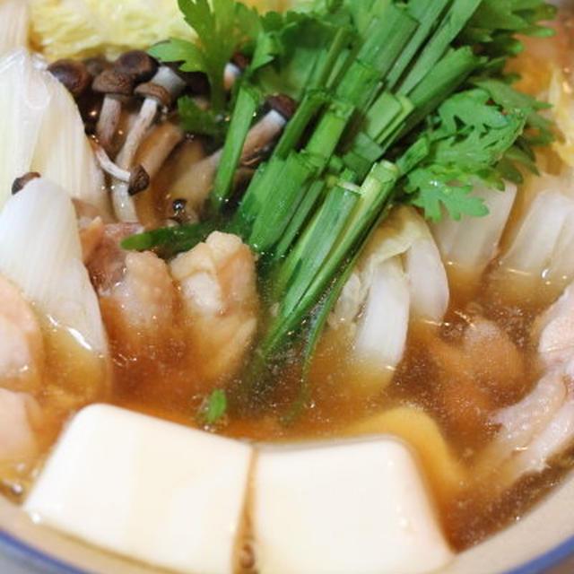 「旨み」と「香り」で楽しむ鍋;ちゃんこスープで簡単ひとり鍋