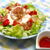 スパイスで減塩!夏に嬉しい、さっぱり爽やか〜ピリッと和食に合う豆腐サラダ