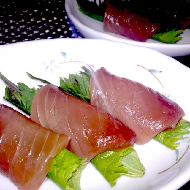 【レシピ】5分でもう1品!マグロの塩レモンロール(^^♪
