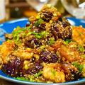 【レシピ】鶏むね肉とトロトロ秋茄子のやみつき油淋鶏