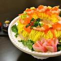 【ちらし寿司ケーキ】 ひな祭りやお祝いに リング型で簡単!